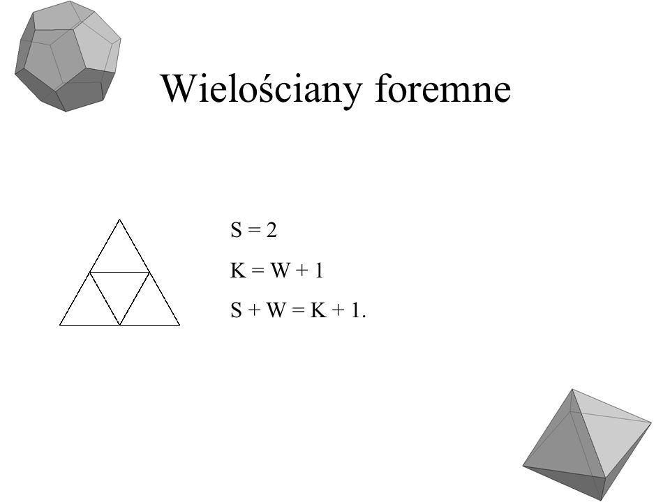 Wielościany foremne Heksaedr V=a 3