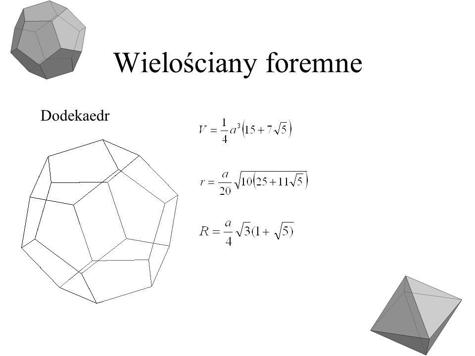 Wielościany foremne Dodekaedr