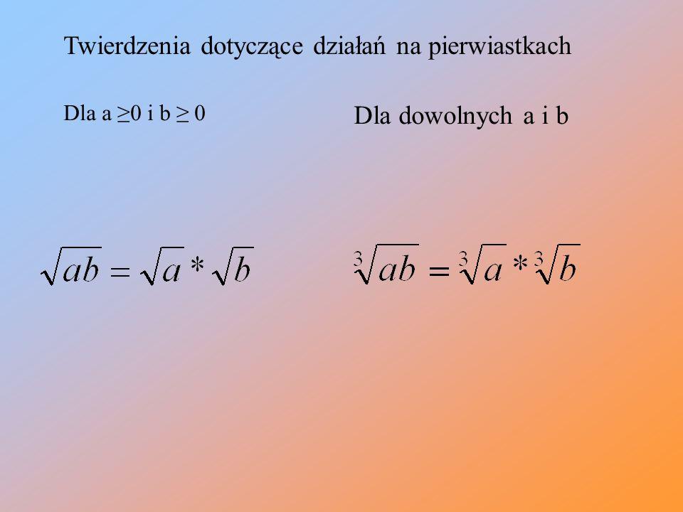 2. W miejsce kropek wstaw znak lub = < = < > = <