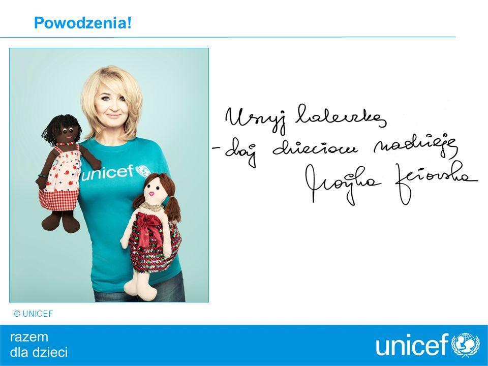 Powodzenia! © UNICEF