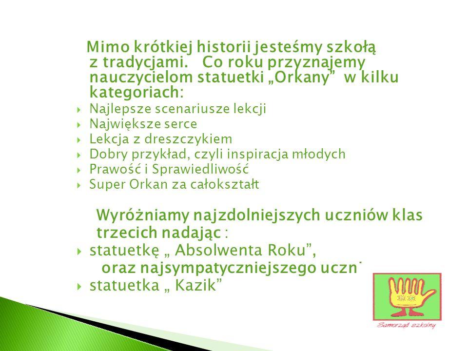 Plan działań i akcji samorządu w r. szk. 2010/11