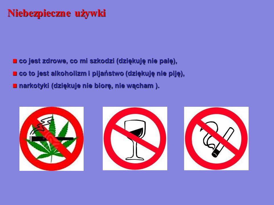 co jest zdrowe, co mi szkodzi (dziękuję nie palę), co jest zdrowe, co mi szkodzi (dziękuję nie palę), co to jest alkoholizm i pijaństwo (dziękuję nie