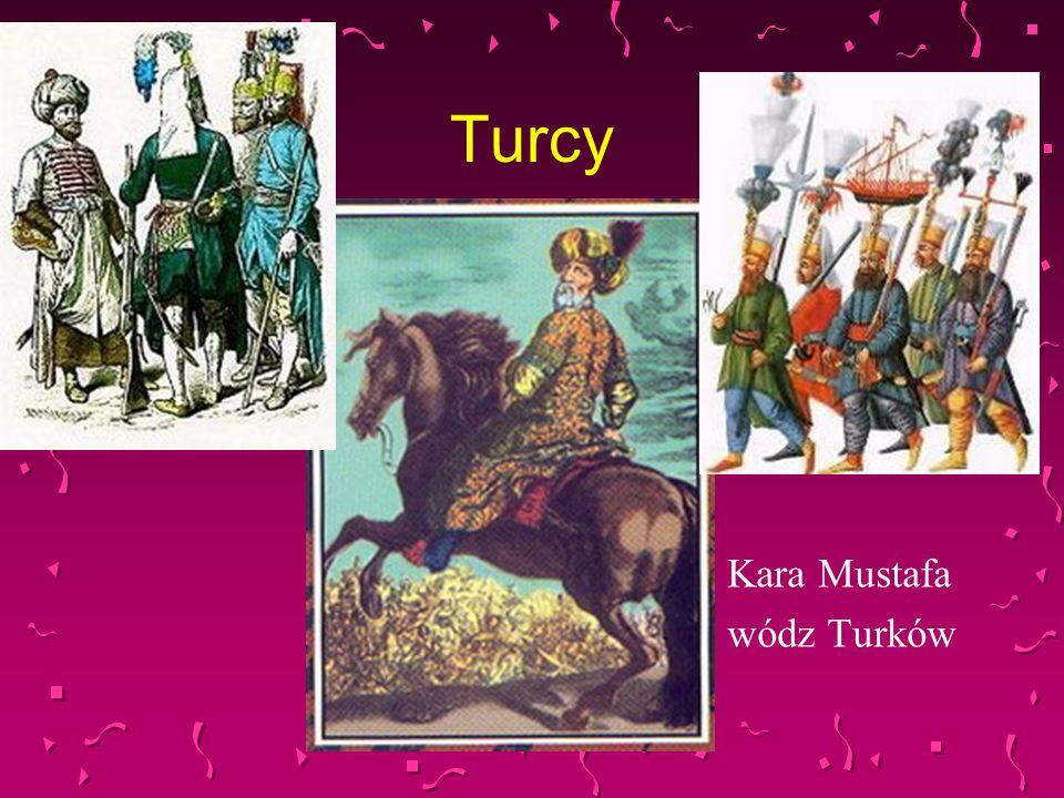 Turcy Kara Mustafa wódz Turków