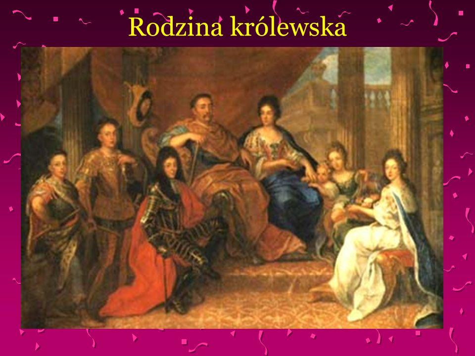 Marysieńka Sobieska W 1665r Sobieski poślubił Marię Kazimierę dArquien zwaną Marysieńką, córkę francuskiego markiza Henryka dArquien