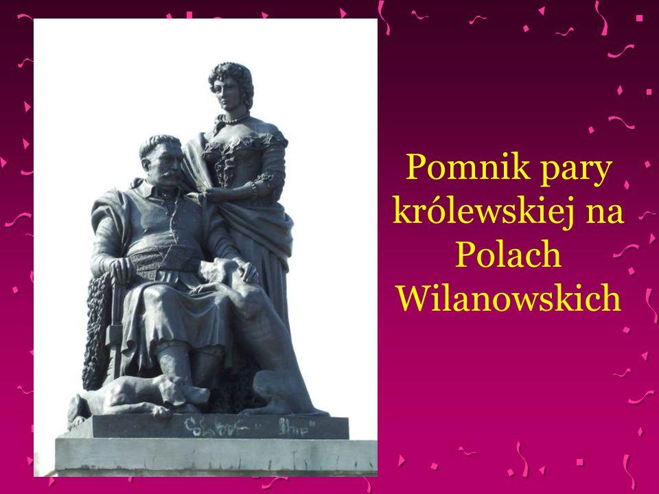 Pomnik pary królewskiej na Polach Wilanowskich