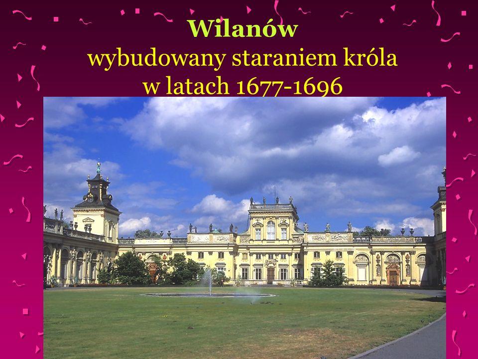 Wyjazd króla z Wilanowa