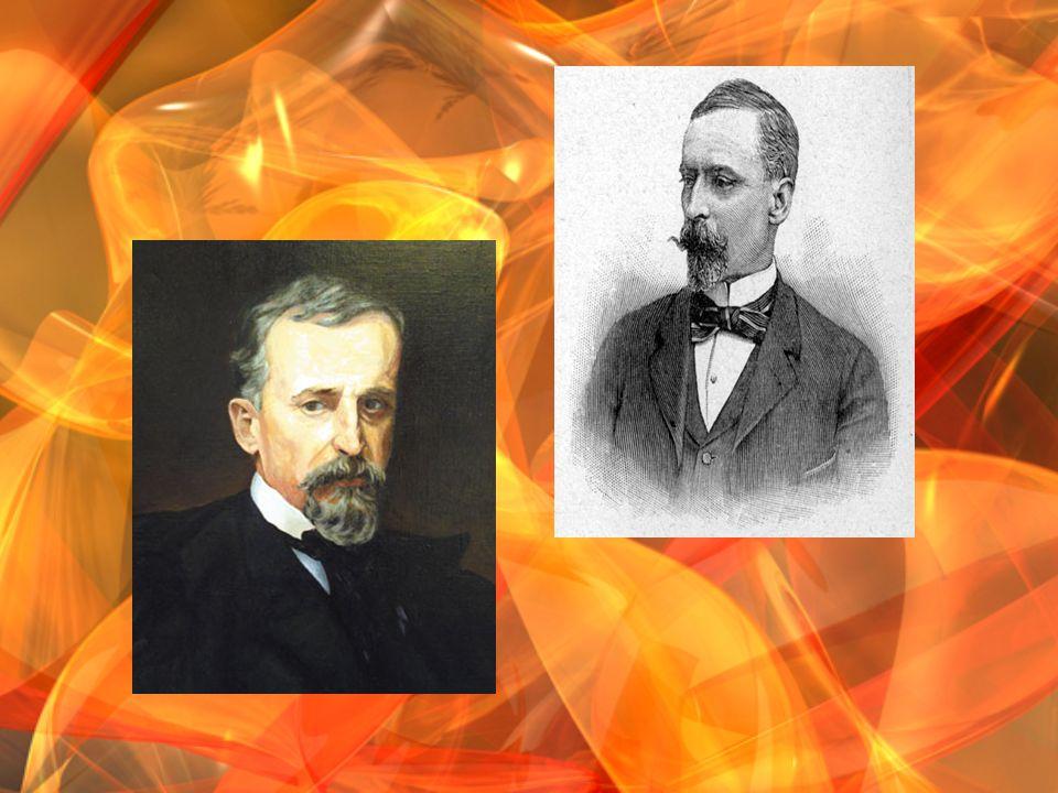 W 1876 r.wraz z Helen ą Modrzejewsk ą oraz grup ą znajomych wybra ł si ę w podró ż do USA.