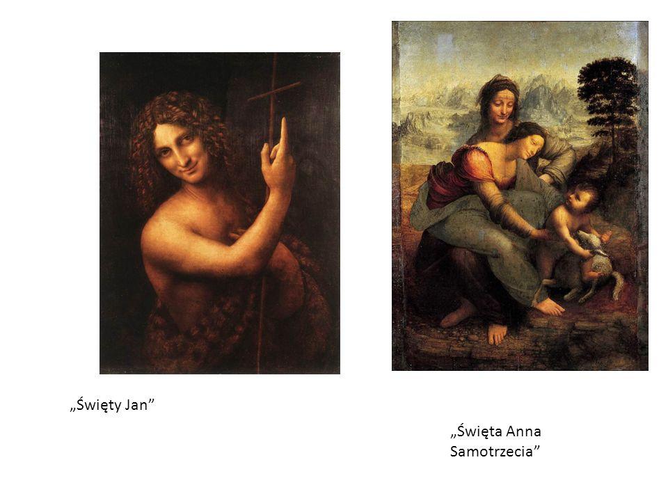 Święta Anna Samotrzecia Święty Jan