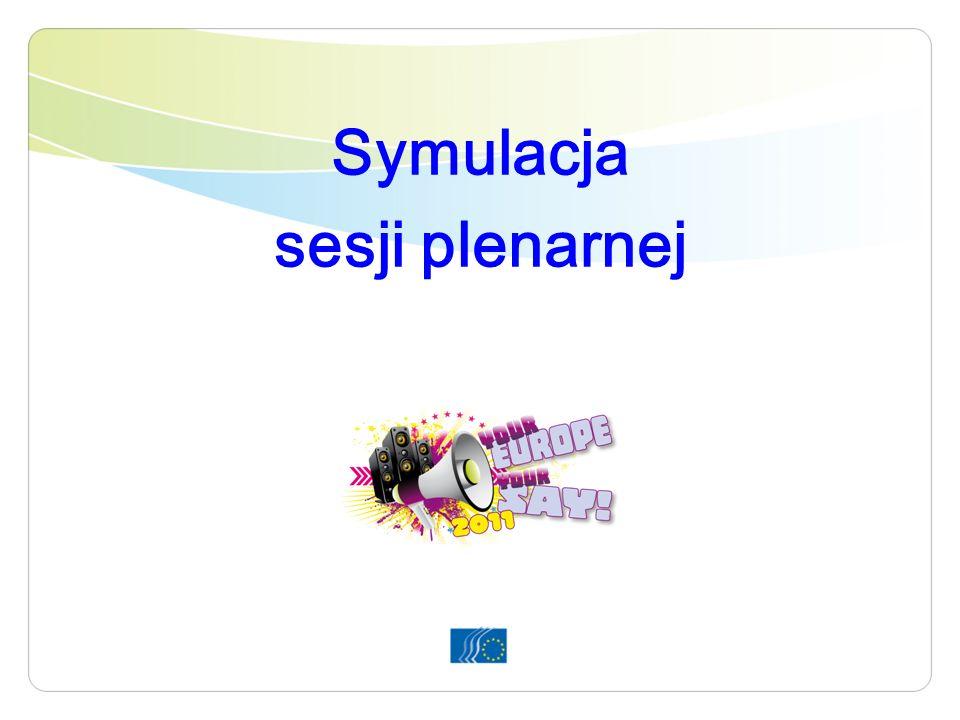 Symulacja sesji plenarnej