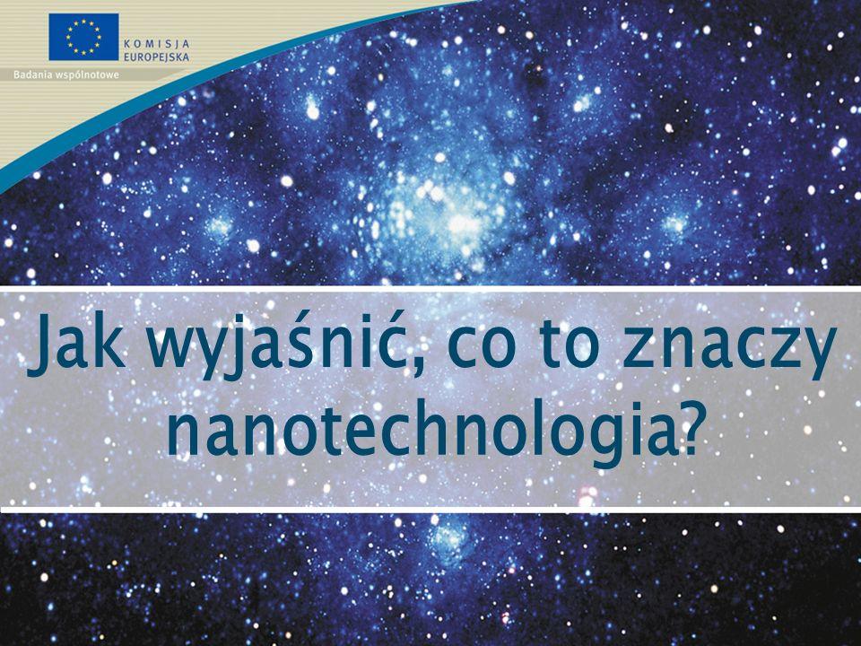 W przyszłości, możliwe do pomyślenia zastosowania są, na przykład: >pomiary z dokładnością do jednego atomu; >czujniki wykrywające niebezpieczne substancje; >elektronika gdzie wykorzystujemy każdy jeden elektron; >błony rozdzielające z bardzo dużą dokładnością; >materiały które mogą zmieniać własności zgodnie z naszymi potrzebami; >nano-maszyny; >nano-roboty które penetrują Twoje ciało albo je wyczyścić lub naprawić....ale to tylko początek.