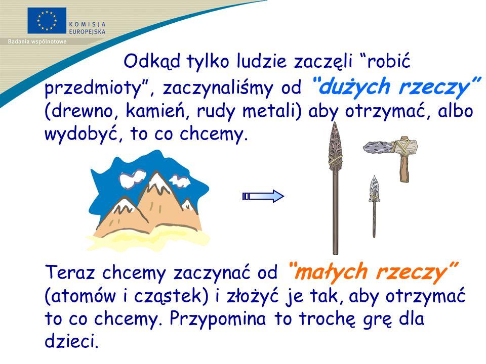 Kajak zrobiony jest z drzewa … Czy wykałaczki do zębów zrobiłbyś z pnia drzewa czy też lepiej byłoby zaczynać od mniejszych cząstek?