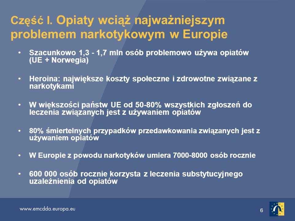 27 Wykres 4: Europejski rynek stymulantów