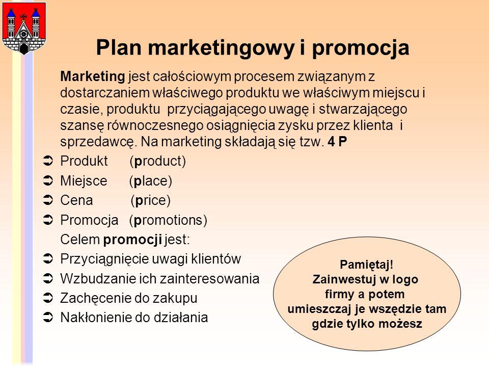 Plan marketingowy i promocja Marketing jest całościowym procesem związanym z dostarczaniem właściwego produktu we właściwym miejscu i czasie, produktu