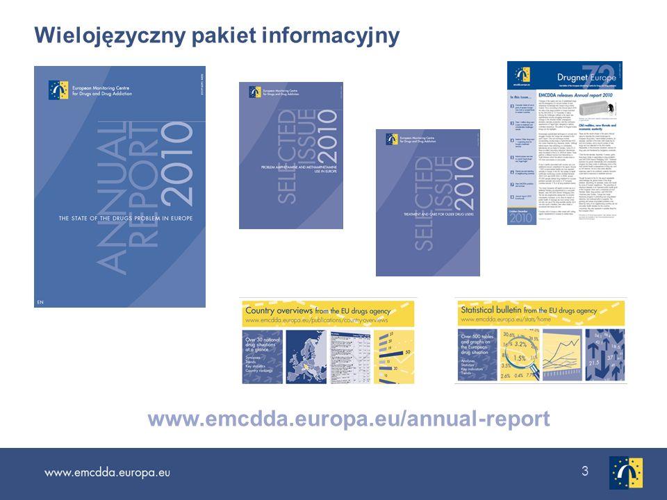3 Wielojęzyczny pakiet informacyjny www.emcdda.europa.eu/annual-report