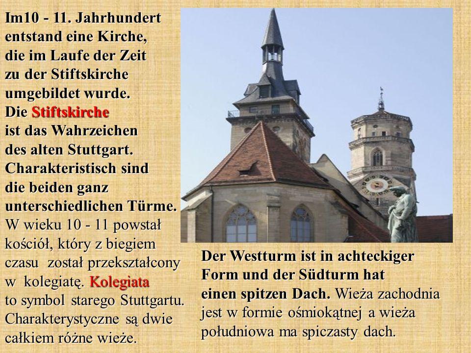 Im10 - 11. Jahrhundert entstand eine Kirche, die im Laufe der Zeit zu der Stiftskirche umgebildet wurde. Die Stiftskirche ist das Wahrzeichen des alte