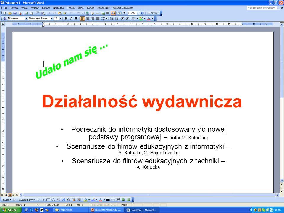 Podręcznik do informatyki dostosowany do nowej podstawy programowej – autor M.