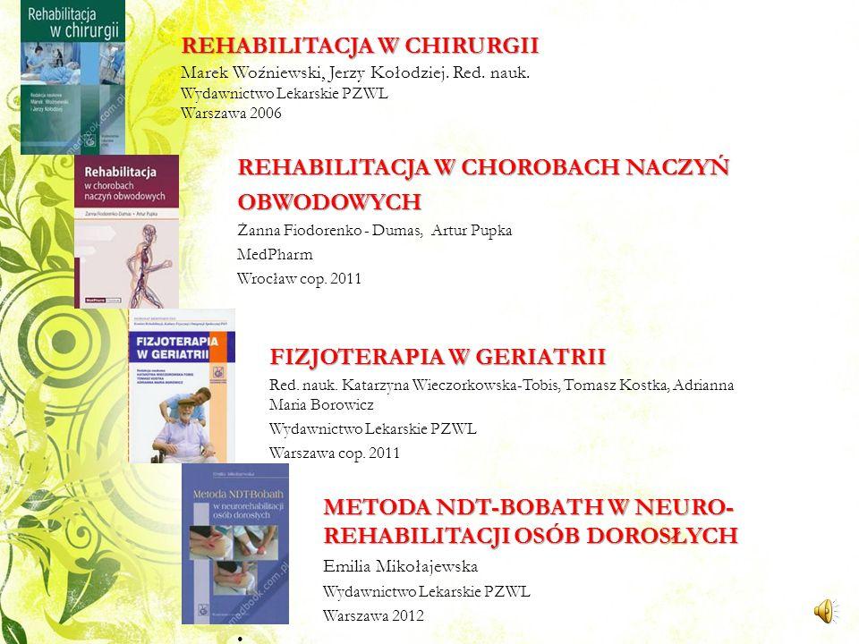 REHABILITACJA NEUROLOGICZNA : PRZYPADKI KLINICZNE Tarek A.-Z. K. Gaber Wydawnictwo Lekarskie PZWL Warszawa 2010 BADANIE OBWODOWEGO UKŁADU NERWOWEGO MA