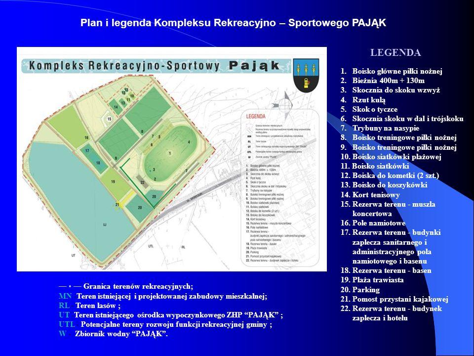 Podjęta została również decyzja o wybudowaniu na terenie naszej gminy Gminnego Kompleksu Rekreacyjnego – Sportowego,,PAJĄK który po ukończeniu będzie drugim co do wielkości stadionem w woj.śląskim.