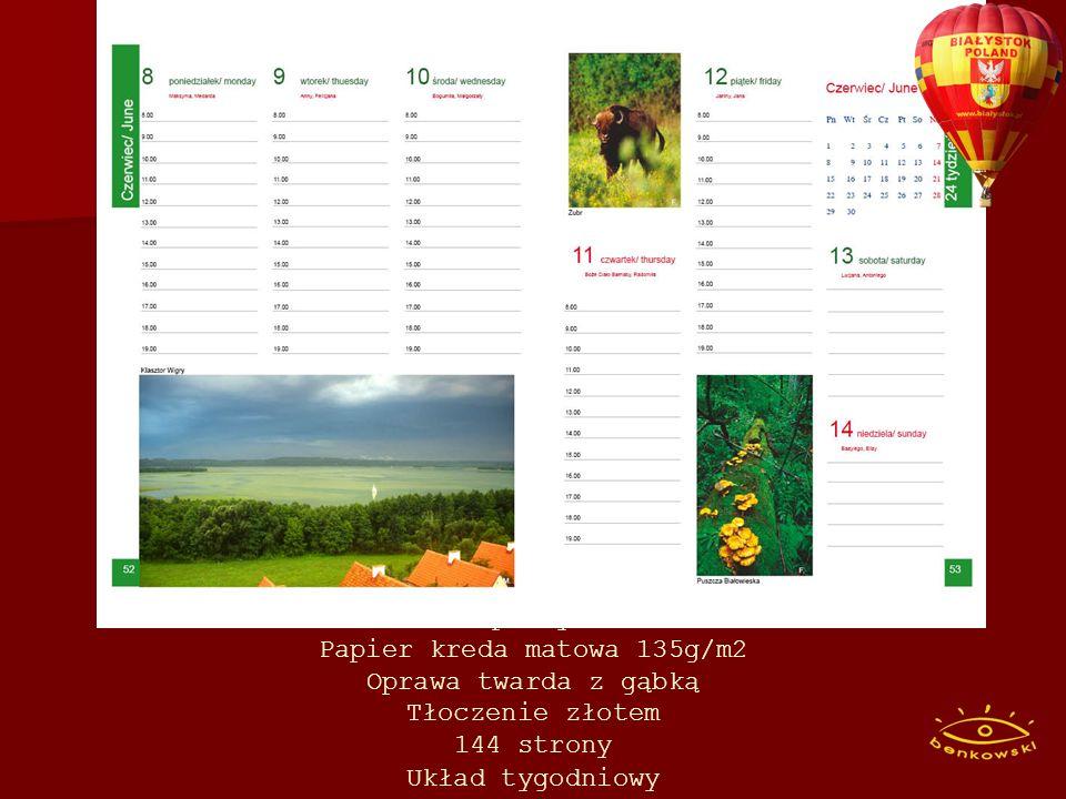 To pierwszy tak piękny kalendarz książkowy promujący najpiękniejsze miejsca Polski.