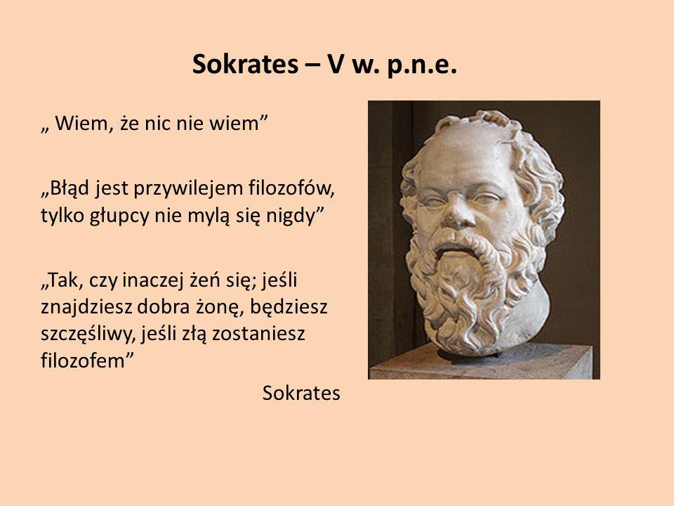 Sokrates – V w.p.n.e.