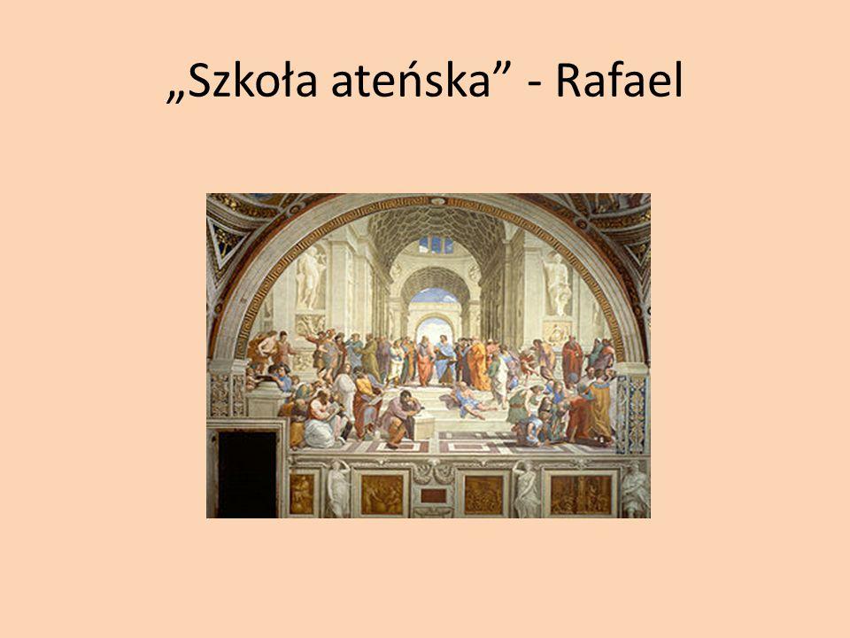 Szkoła ateńska - Rafael