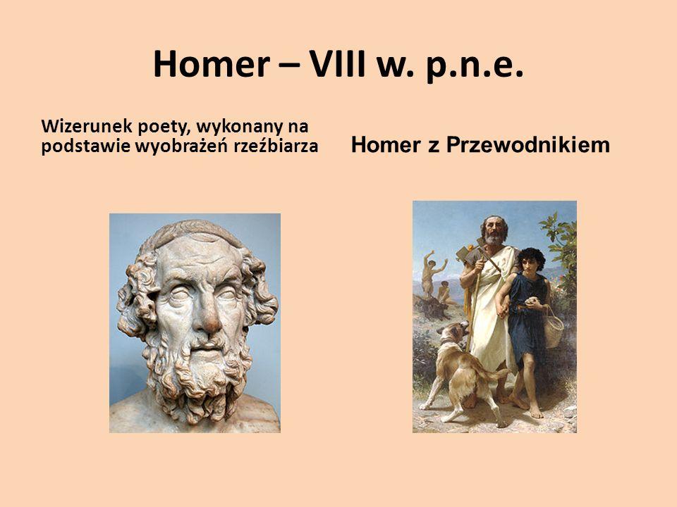 Homer – VIII w.p.n.e.