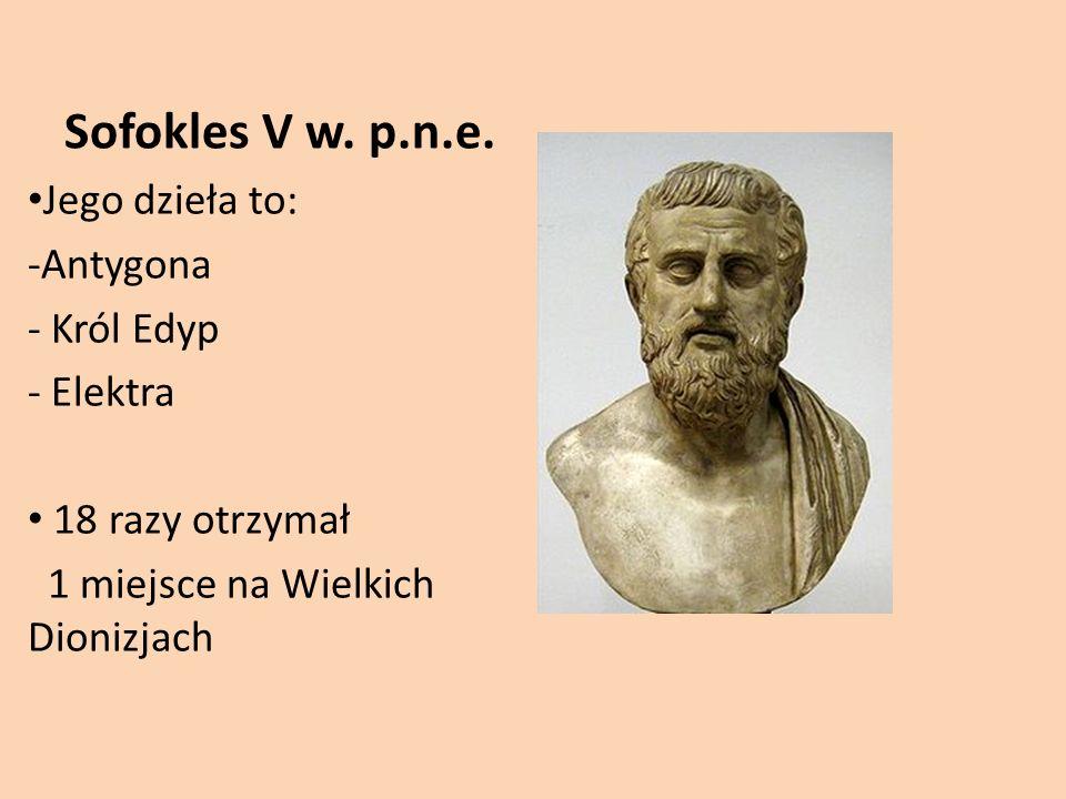 Sofokles V w.p.n.e.