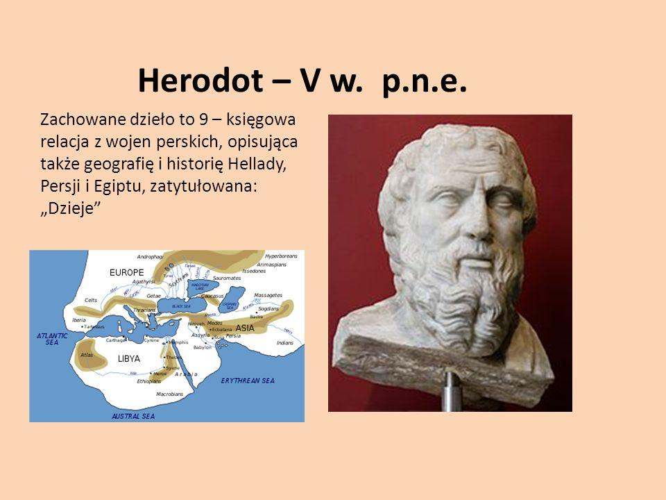 Herodot – V w.p.n.e.