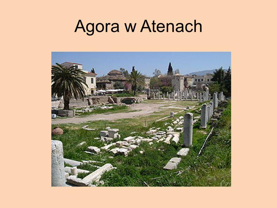 Agora w Atenach