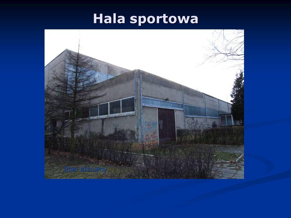 Hala sportowa Stan aktualny