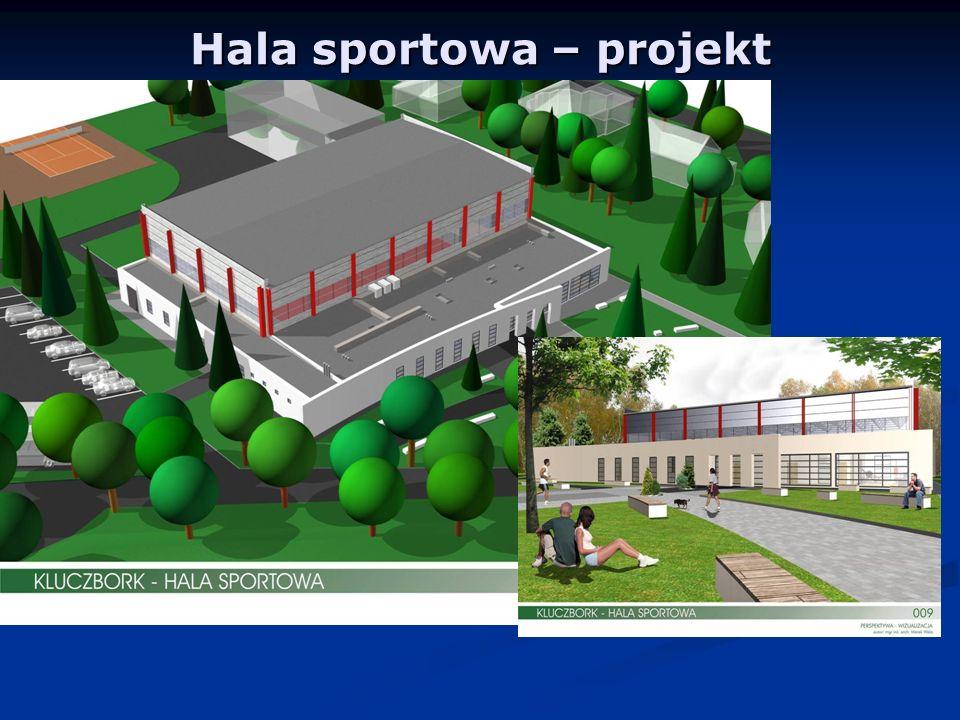 Hala sportowa – projekt