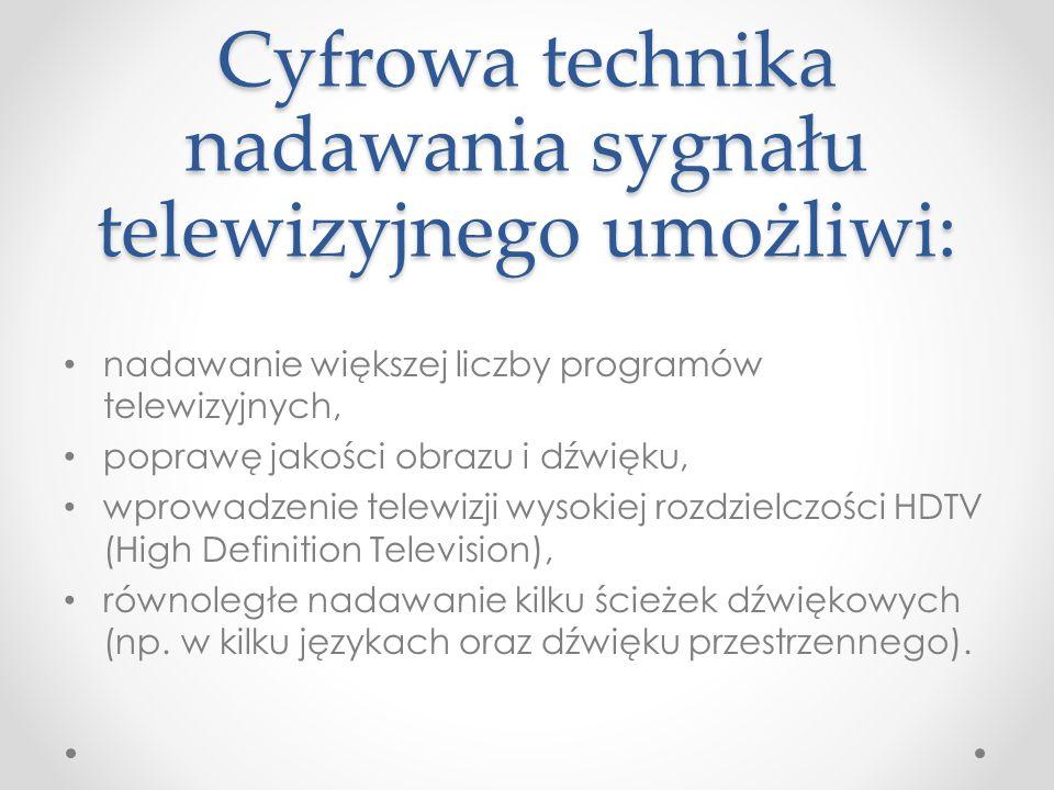 Dlaczego cyfryzujemy telewizję naziemną (NTC).