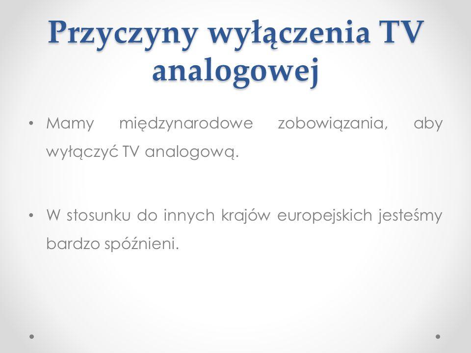 Na czym polega cyfryzacja telewizji naziemnej.