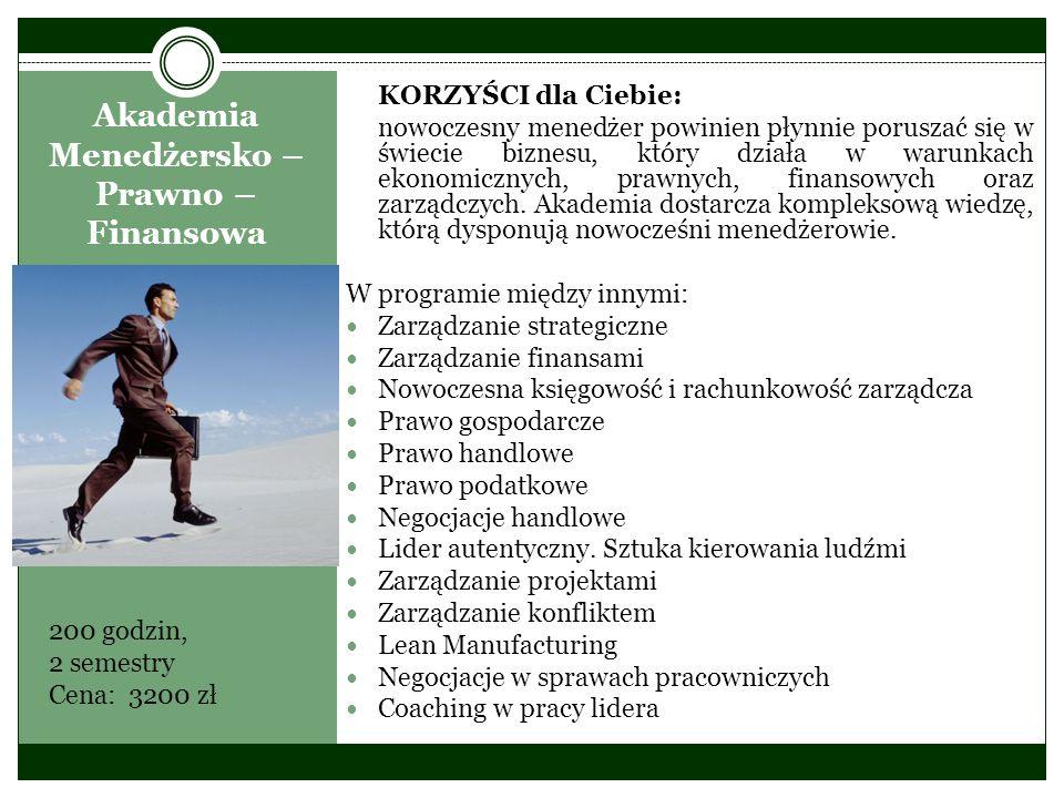 Zarządzanie w ochronie zdrowia KORZYŚCI dla Ciebie: Przygotowanie wykwalifikowanej kadry kierowniczej dla potrzeb zarządzania w publicznych i niepublicznych placówkach opieki zdrowotnej, z uwzględnieniem wymogów reformy systemu ubezpieczenia społecznego w Polsce.