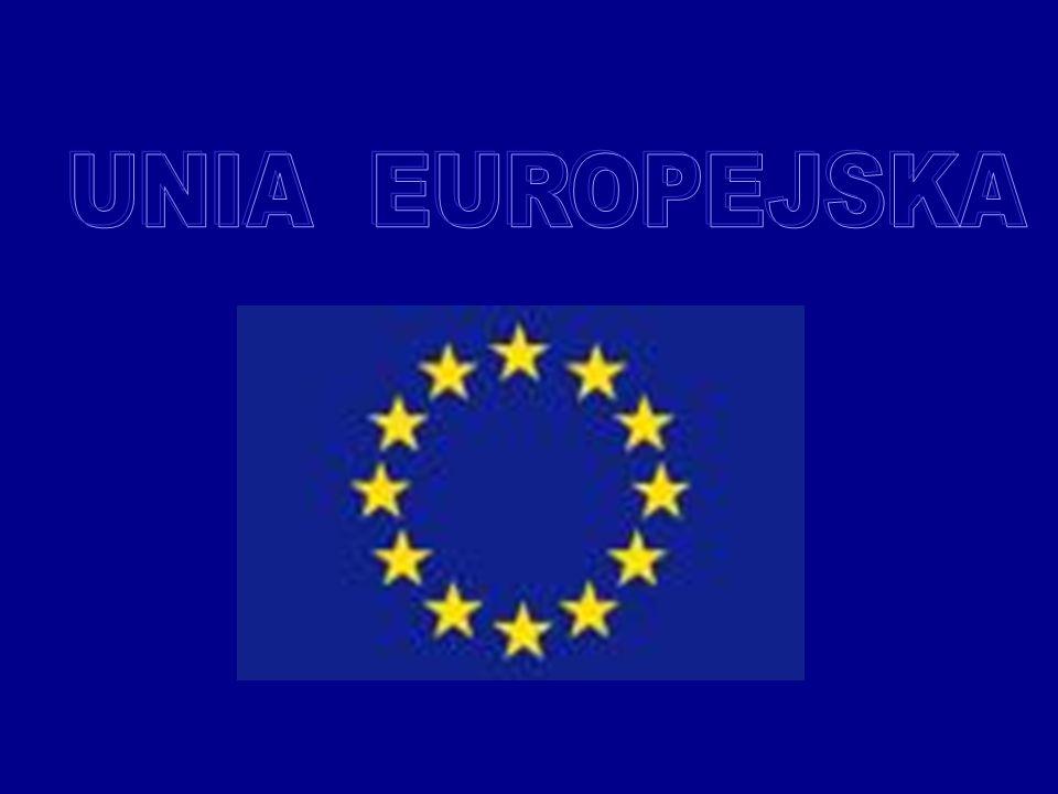Unia Europejska to polityczne i gospodarcze ugrupowanie piętnastu państw europejskich, a po rozszerzeniu w dniu 1 maja 2004 roku – dwudziestu pięciu krajów Europejskich, które postanowiły ściśle ze sobą współpracować budując dobrobyt i bezpieczeństwo, nie rezygnując przy tym z własnej niepodległości i tożsamości narodowej.