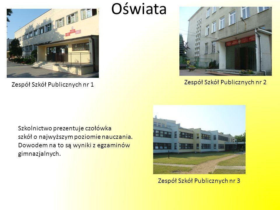 Miejski Ośrodek Kultury W ofercie MOK znajdują się zajęcia sztuk walk, zajęcia taneczne, nauka gry na instrumentach i wiele innych sekcji.