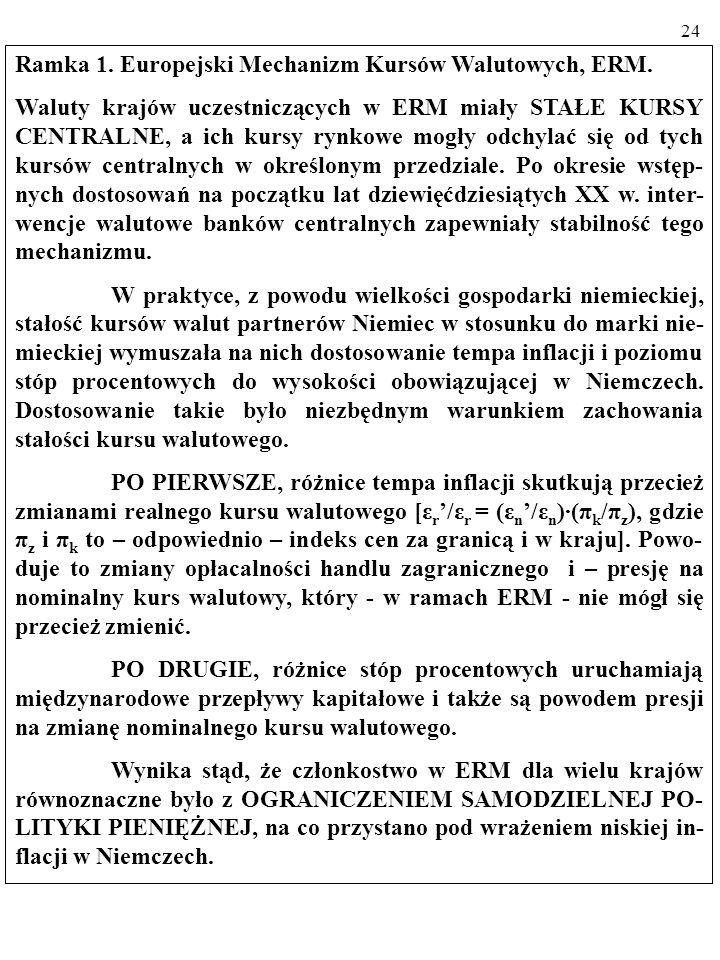 23 2.3. MODELE DRUGIEJ GENERACJI. MODELE DRUGIEJ GENERACJI powstały w celu wyjaśnienia kryzysu walutowego, do którego doszło w Europie we wrześniu 199