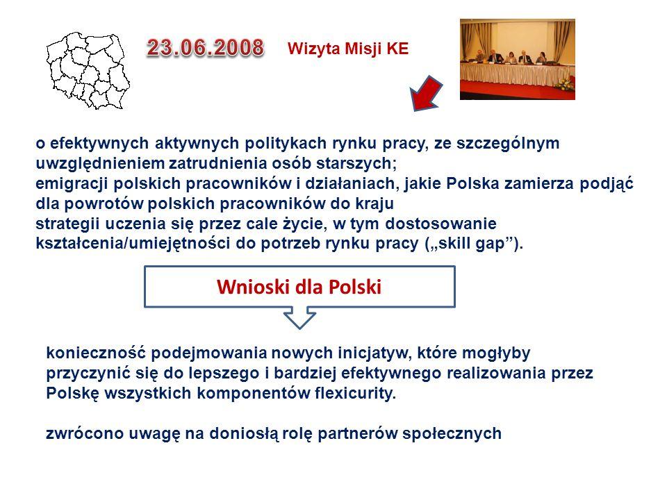 Wnioski dla Polski konieczność podejmowania nowych inicjatyw, które mogłyby przyczynić się do lepszego i bardziej efektywnego realizowania przez Polsk