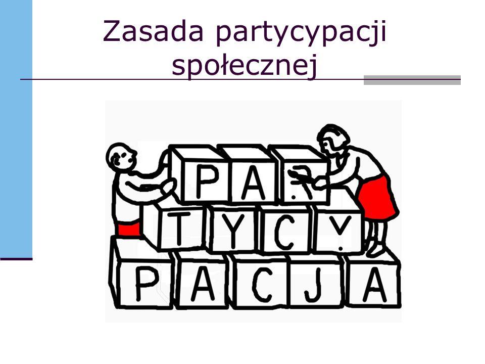Zasada partycypacji społecznej