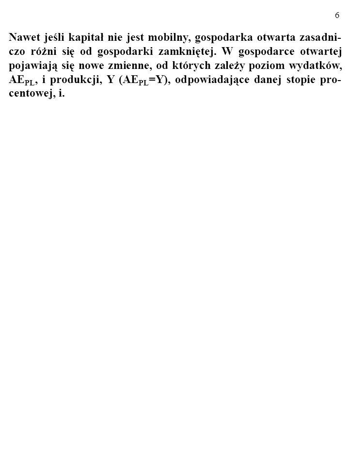 66 2.Usuń błędy (gospodarka, o którą chodzi, jest keynesowska).