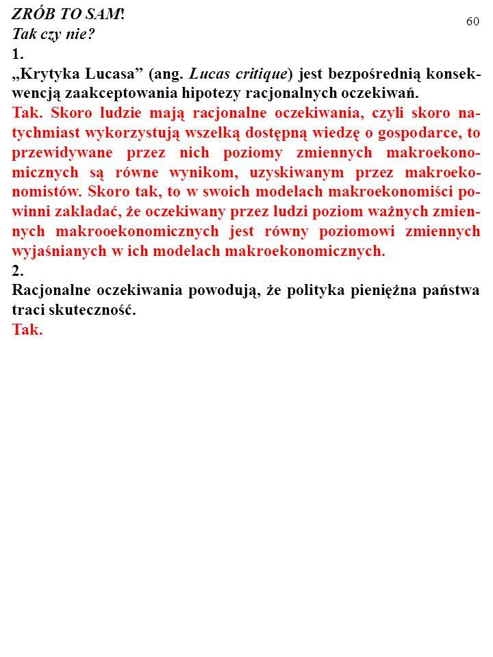 59 Brzytwa Ockhama, czyli postulat prostoty w nauce W skład teorii powinny wchodzić tylko takie pojęcia, których istnienie stanowi warunek konieczny p