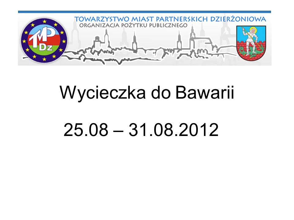 29.08.2012 Dzień piąty