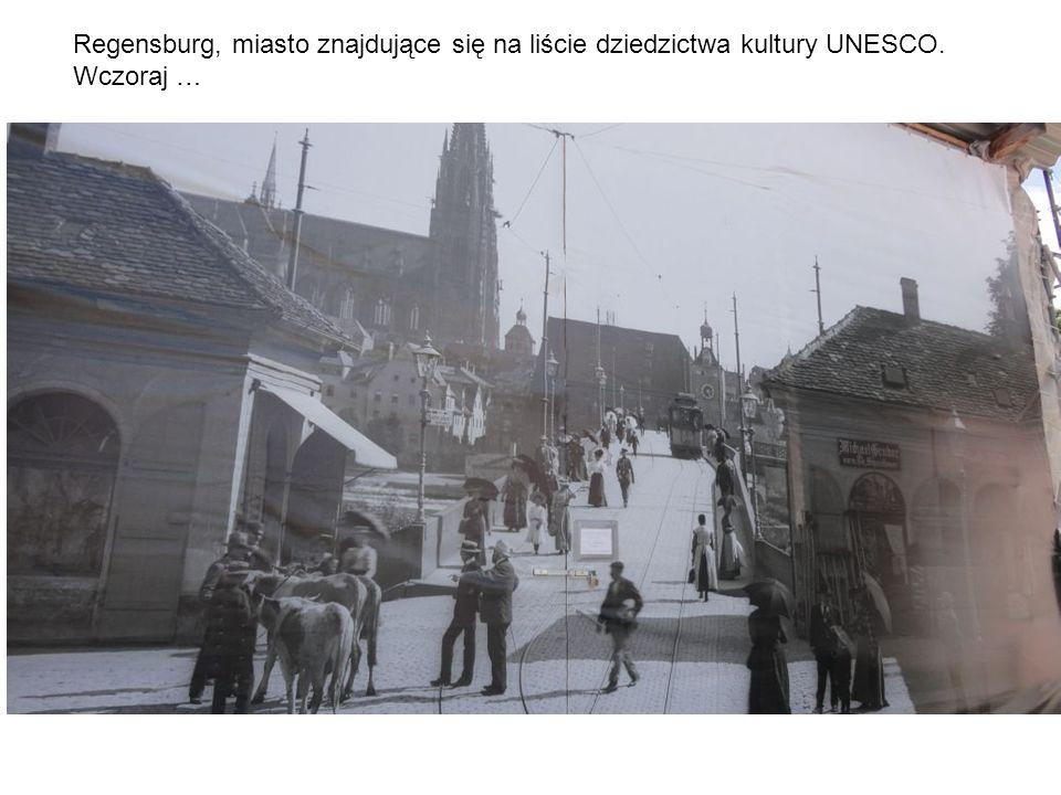 Regensburg, miasto znajdujące się na liście dziedzictwa kultury UNESCO. Wczoraj …