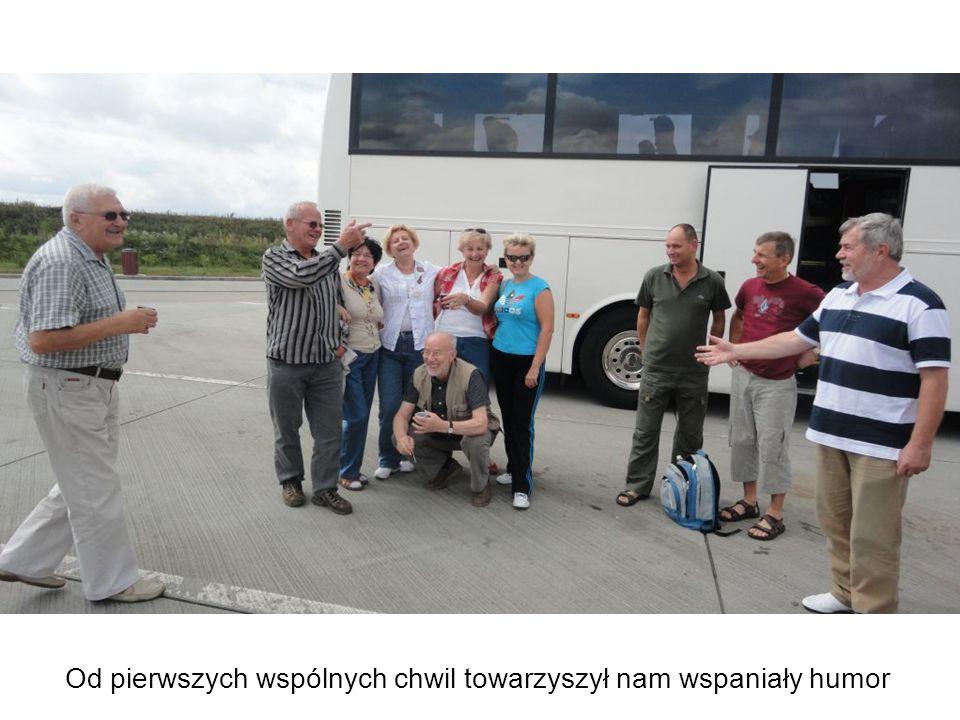 Powitanie gości przez gospodarzy z Bischofsheim