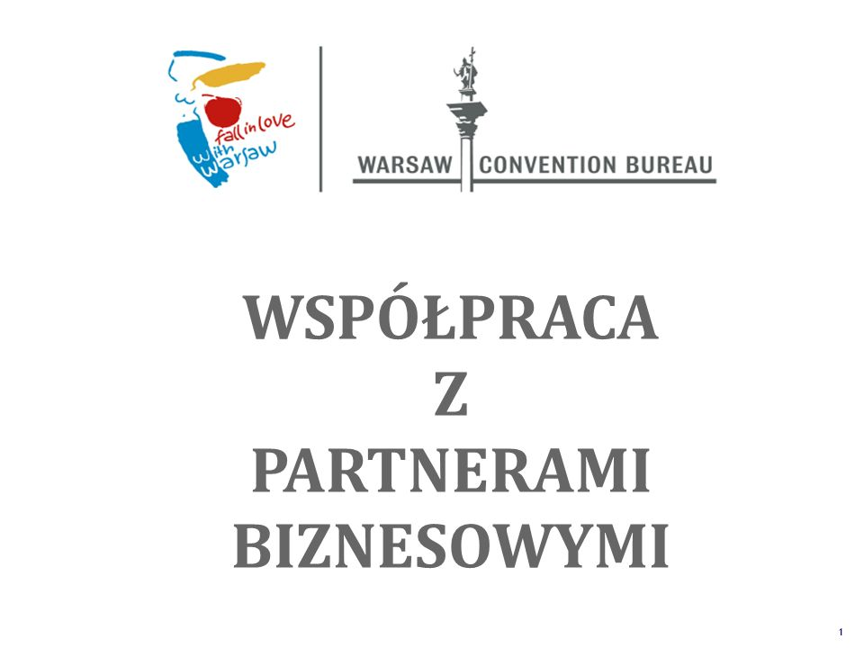 The Unique Alternative to the Big Four SM 1 WSPÓŁPRACA Z PARTNERAMI BIZNESOWYMI