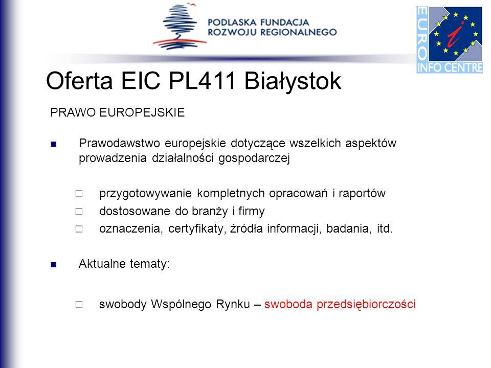 Prawodawstwo europejskie dotyczące wszelkich aspektów prowadzenia działalności gospodarczej przygotowywanie kompletnych opracowań i raportów dostosowa