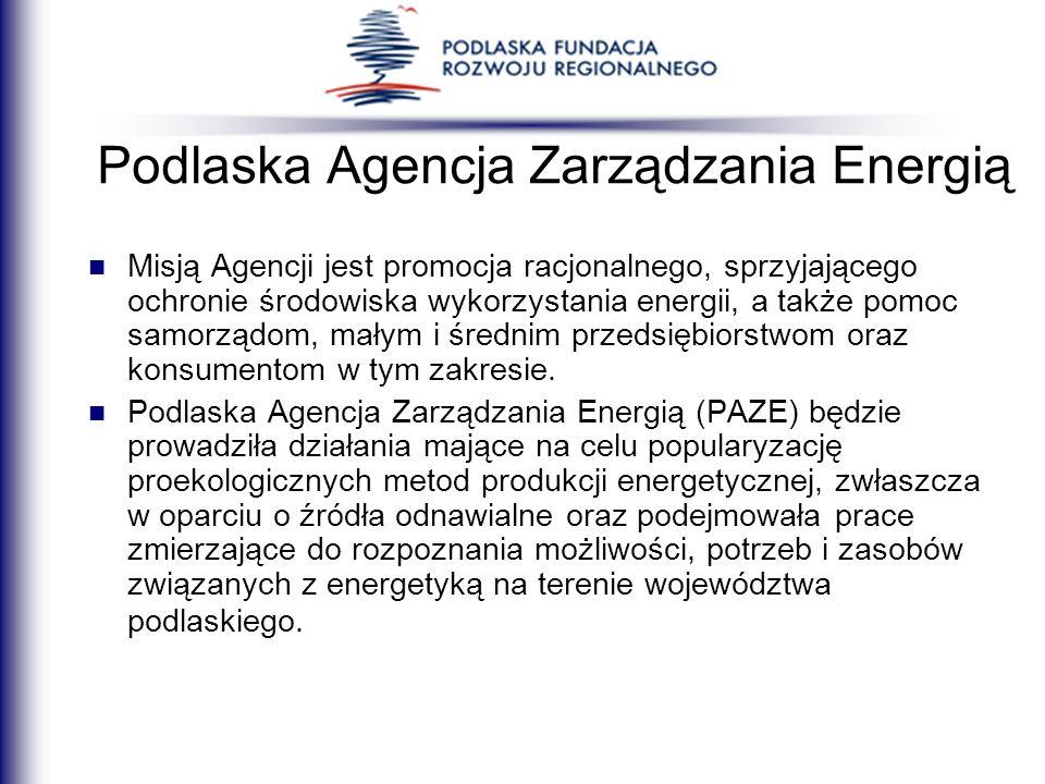 Misją Agencji jest promocja racjonalnego, sprzyjającego ochronie środowiska wykorzystania energii, a także pomoc samorządom, małym i średnim przedsięb