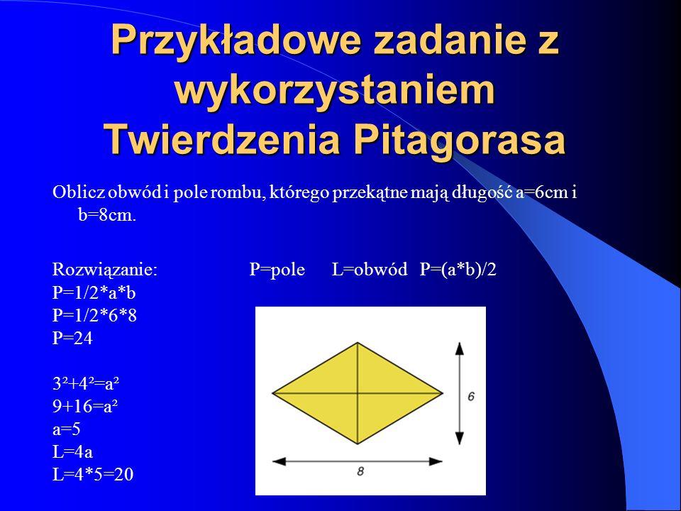 Cechy przystawania trójkątów 1.(bbb) bok-bok-bok odpowiednie boki trójkąta są równe 2.