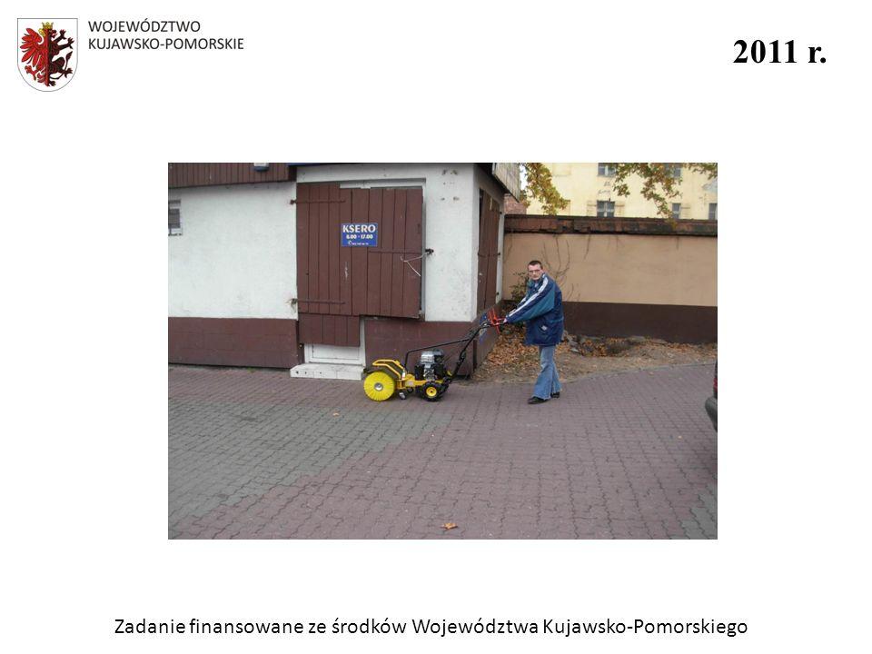 Zadanie finansowane ze środków Województwa Kujawsko-Pomorskiego 2011 r.