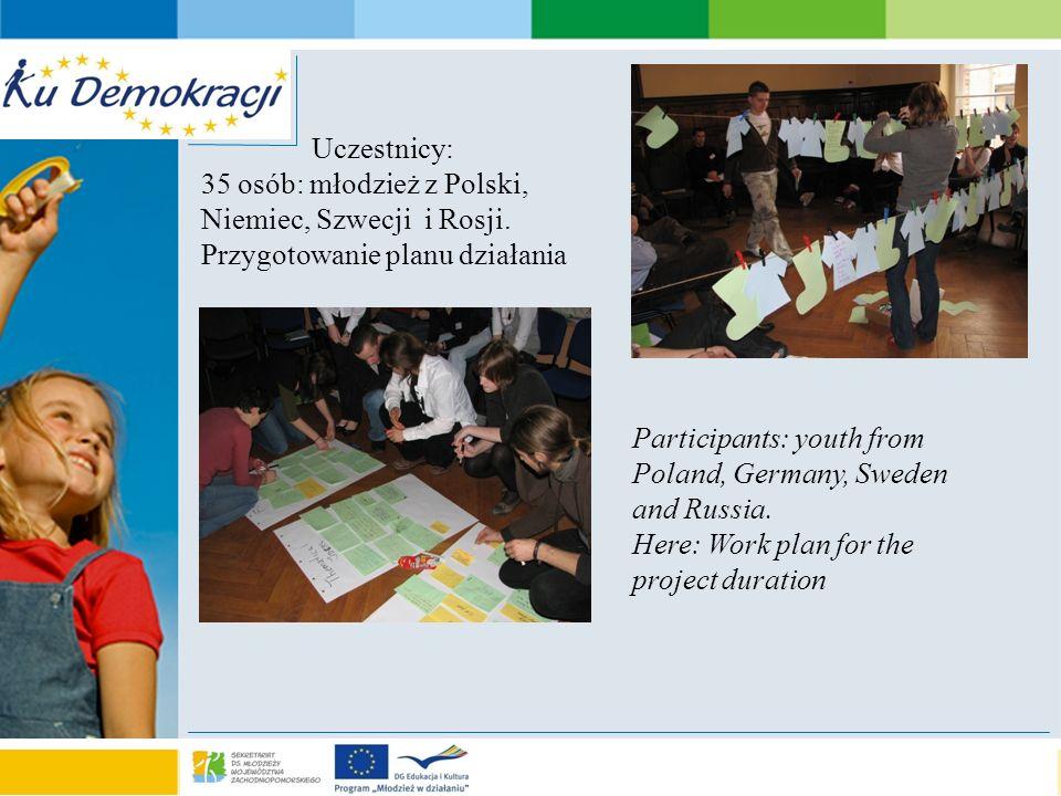 s e a o f a d v e n t u r e Rezultaty/ results Polsko-niemiecki team prezentuje sposoby oszczędzania energii Polish –German team presents the ways of saving energy